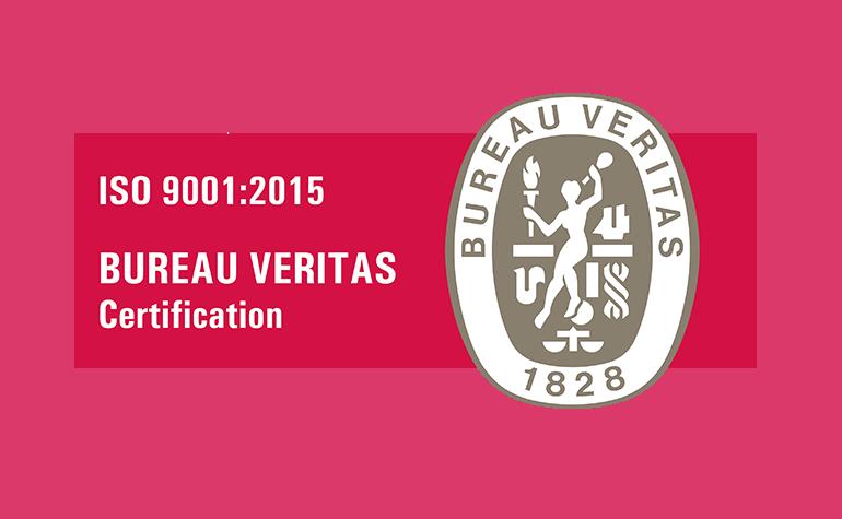 Pakon Certyfikat ISO 2009:2015